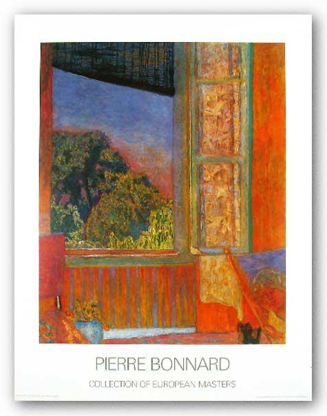 Museum art print la fenetre ouverte 1921 pierre bonnard ebay for Malcolm x fenetre