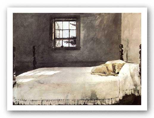 Museum Art Print Master Bedroom Andrew Wyeth 18x25 Ebay